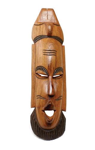 "Senegalese Mahogany Mask 12""-18"""