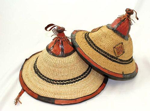 Fulani Straw Hat - Medium
