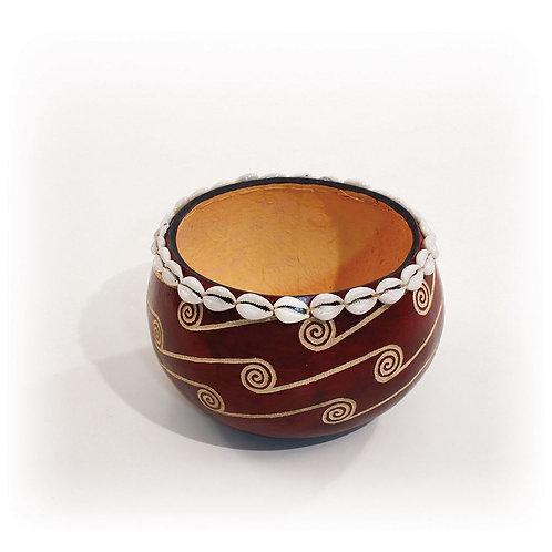 """Kenyan Gourd Calabash Bowl - 7-8"""""""