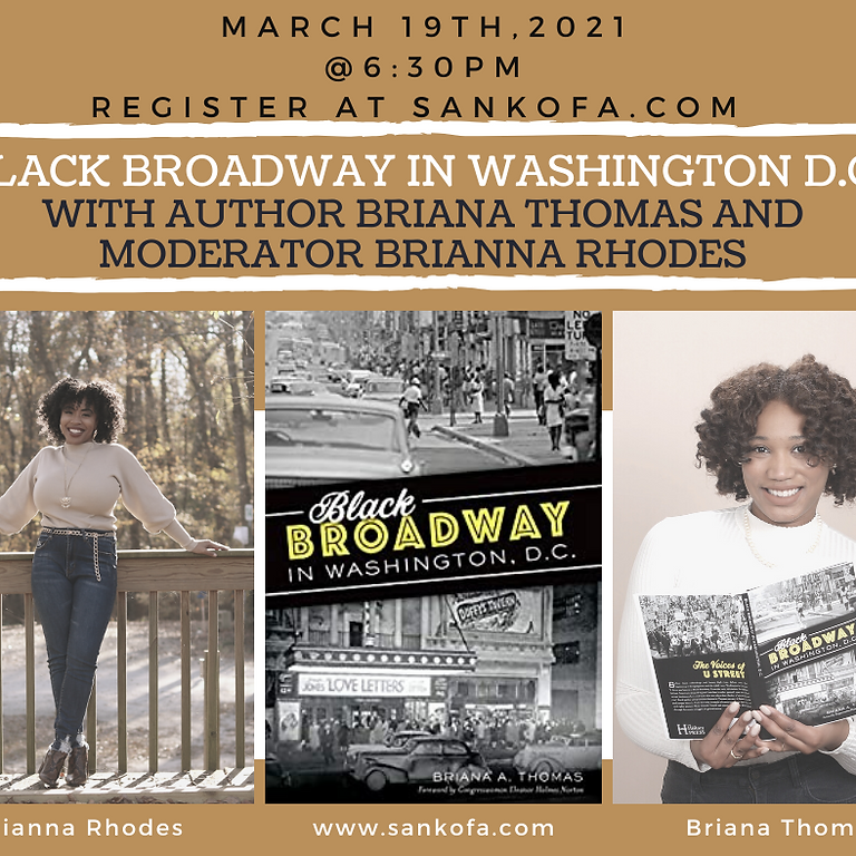 Black Broadway in Washington, DC