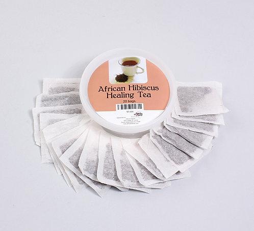African Hibiscus Healing Tea: 20 Bags