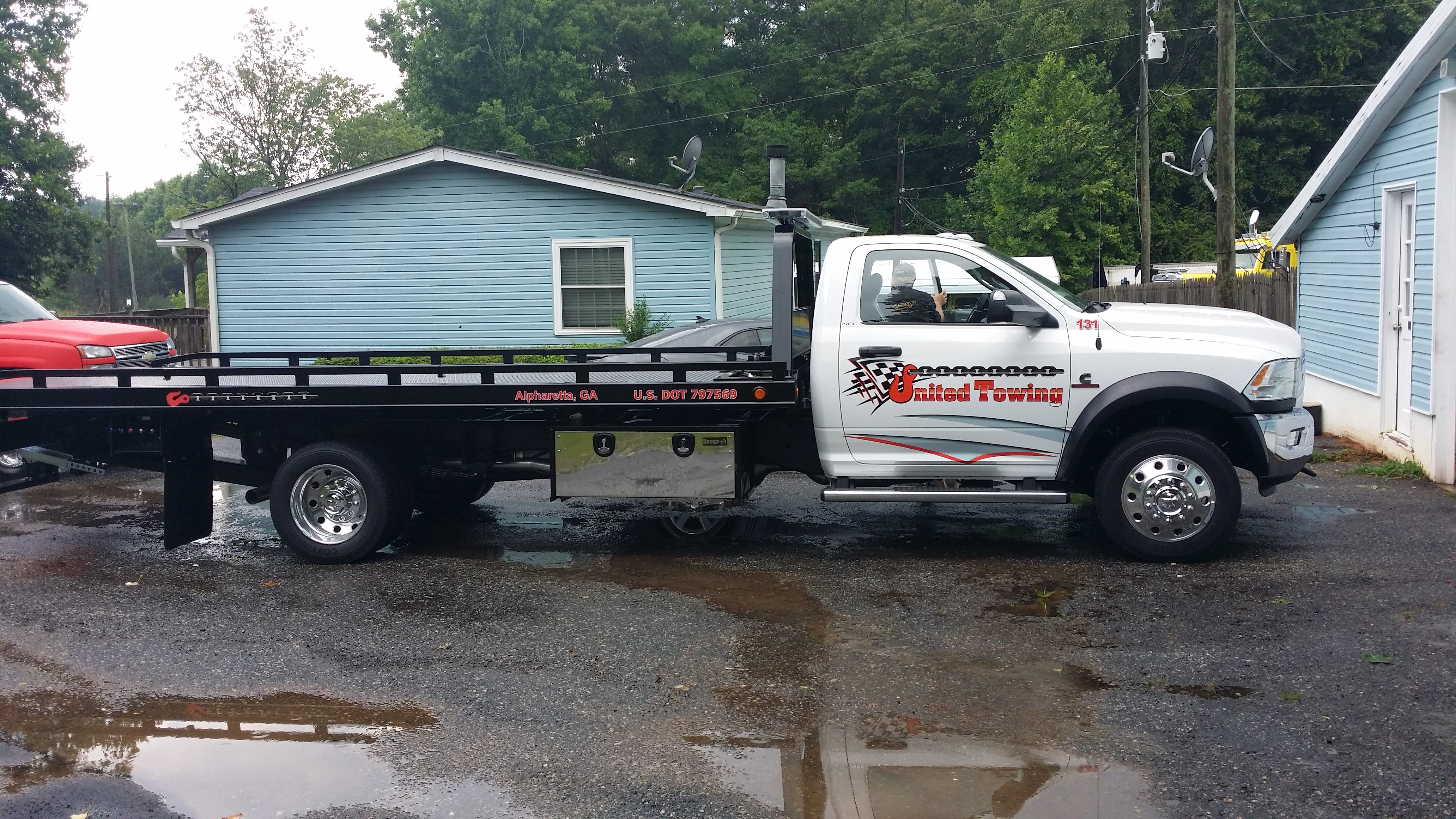 tow truck graphics