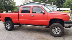 flat red paint wrap