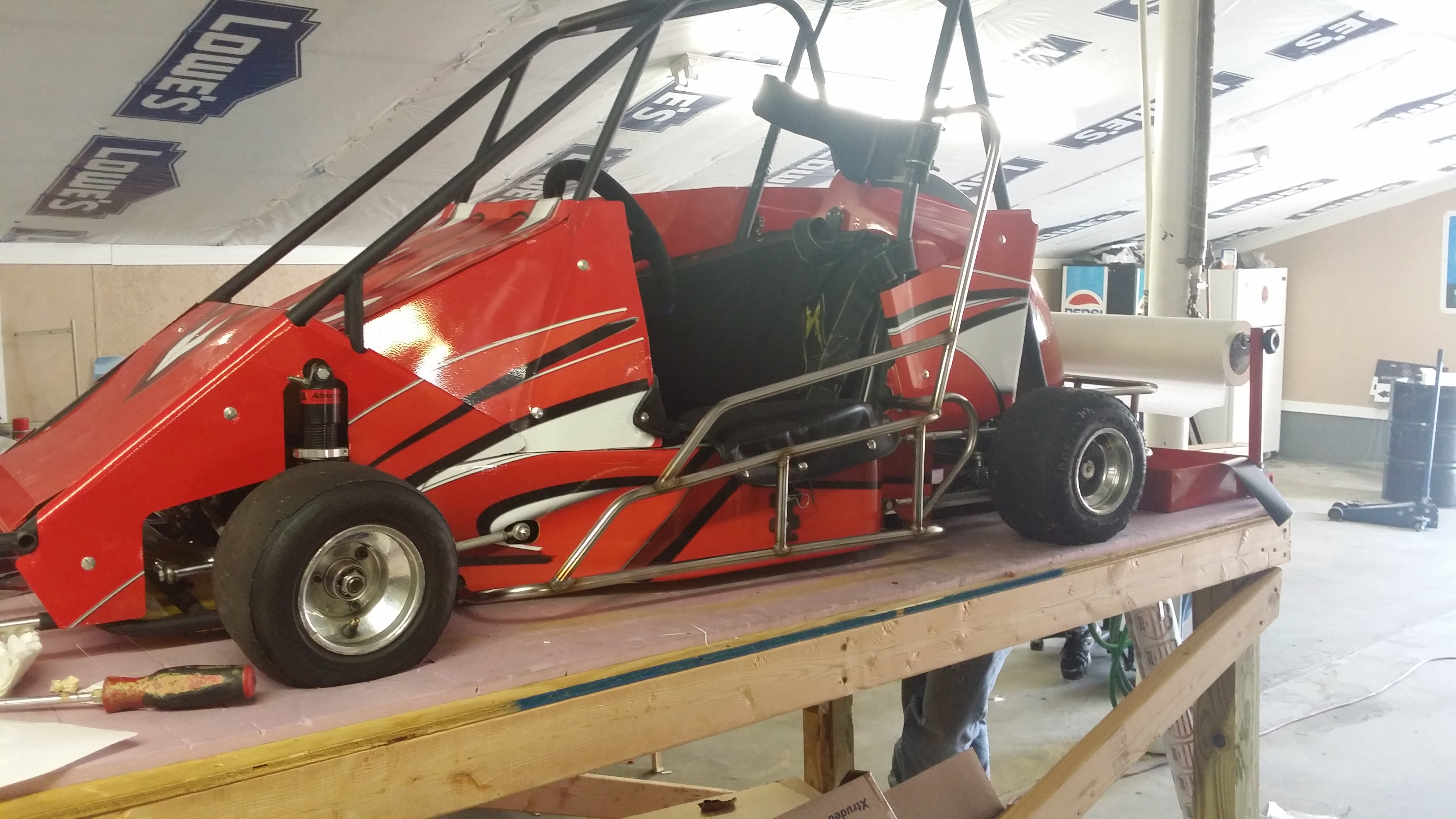 full go cart wrap