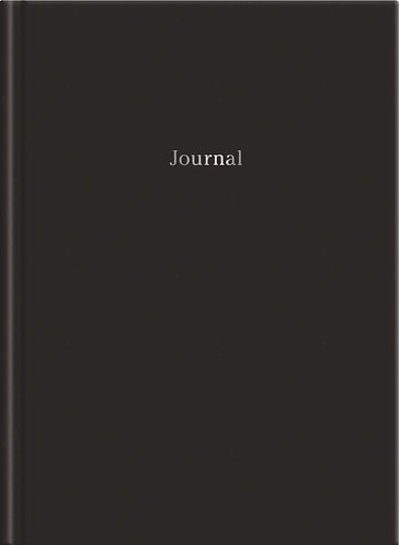 Black Hardcover Journal