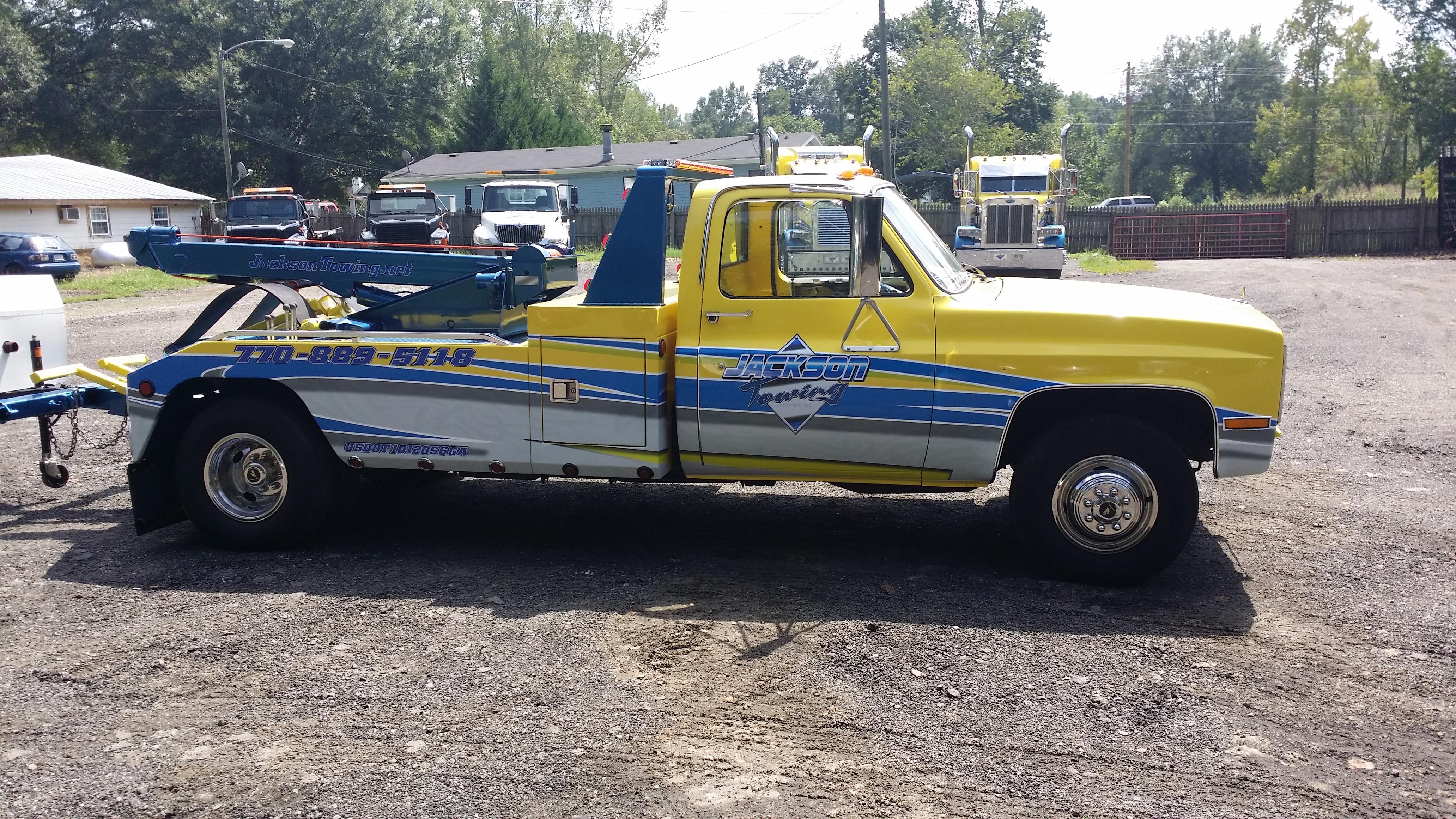 truck half wrap
