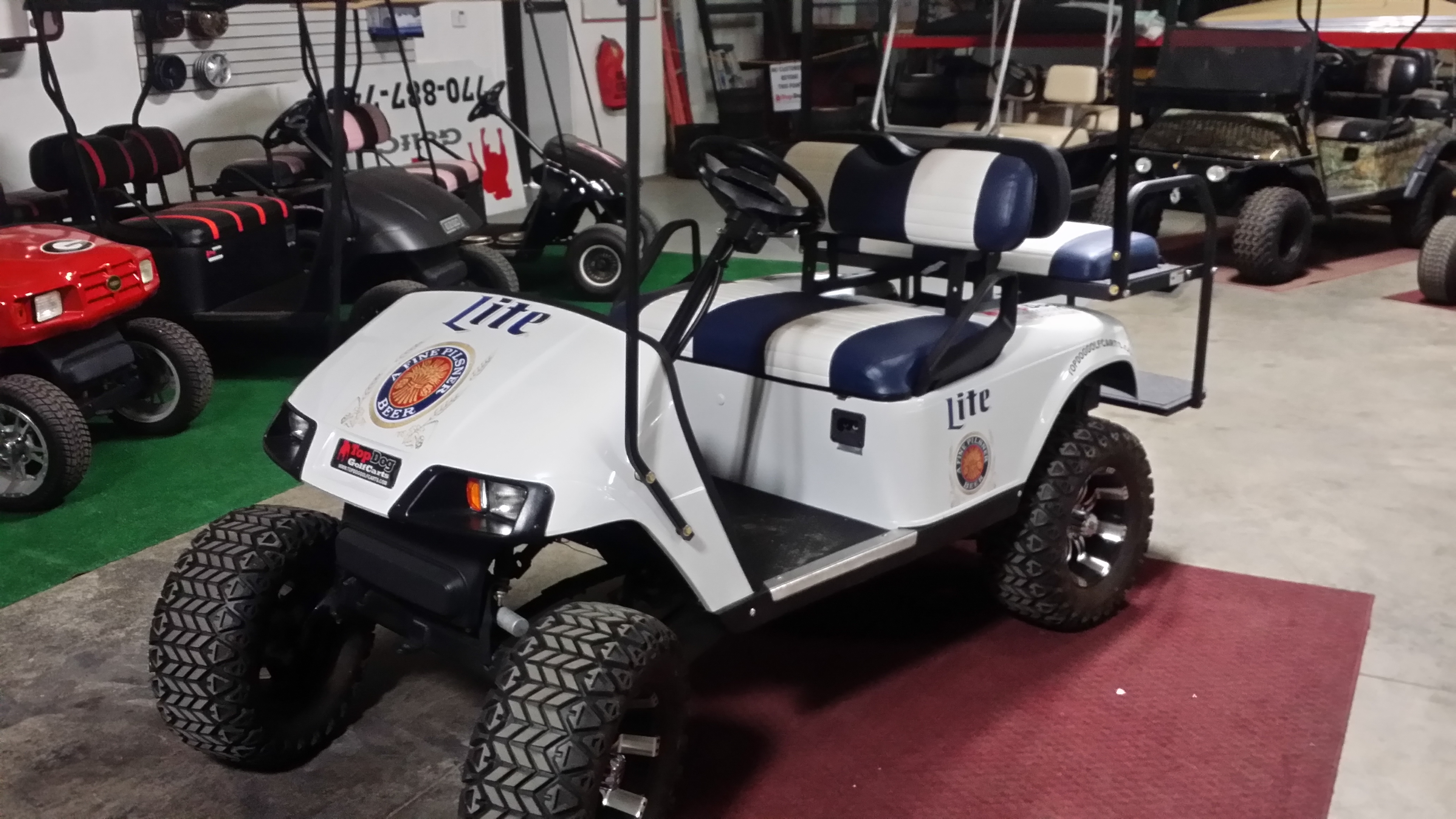 golf cart for miller lite
