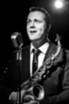 Thomas Achermann, Basel, Saxophon und Gesang