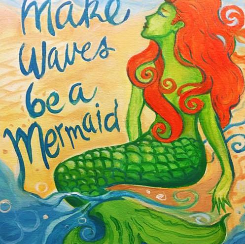 Mermaid Make Waves
