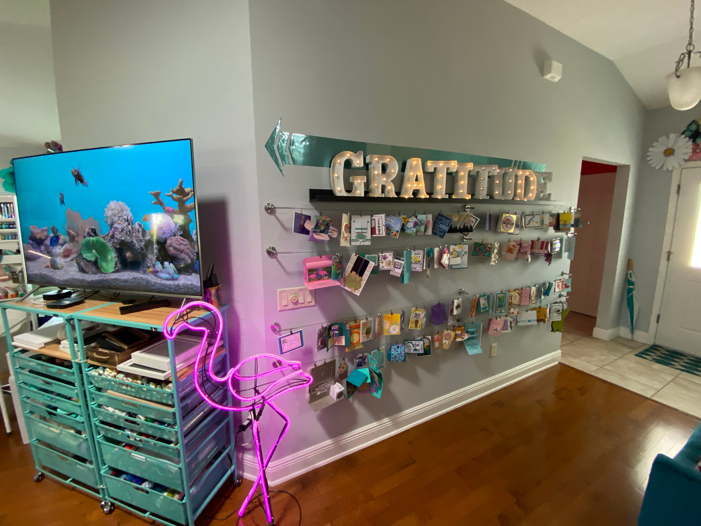 Gratitude Wall - Cards from You!