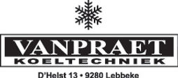 Logo Van Praet_zwart_Koeltechniek_contou