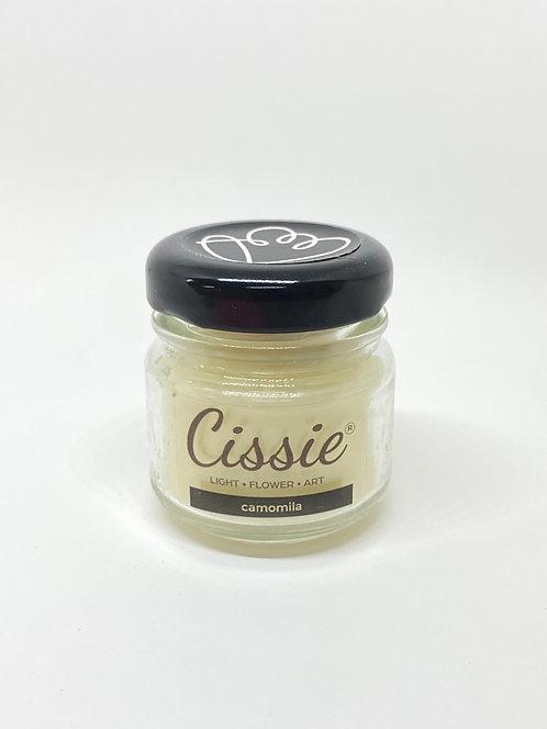 Vela Artesanal Cissie - Camomila (MINI)