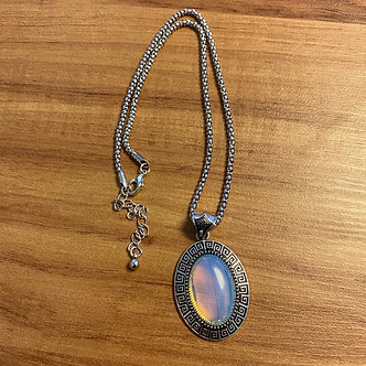 Colar - Opalina Oval