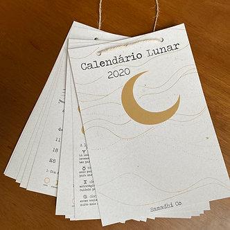 Calendário Lunar 2020 (Metade)