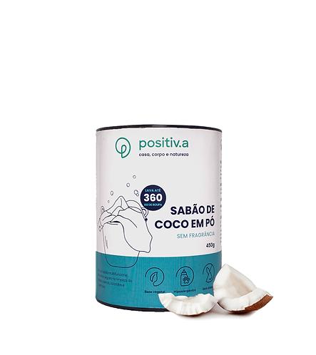 Sabão de Coco em Pó - Positiv.a