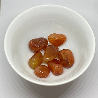 Pedra Cornalina - Rolada