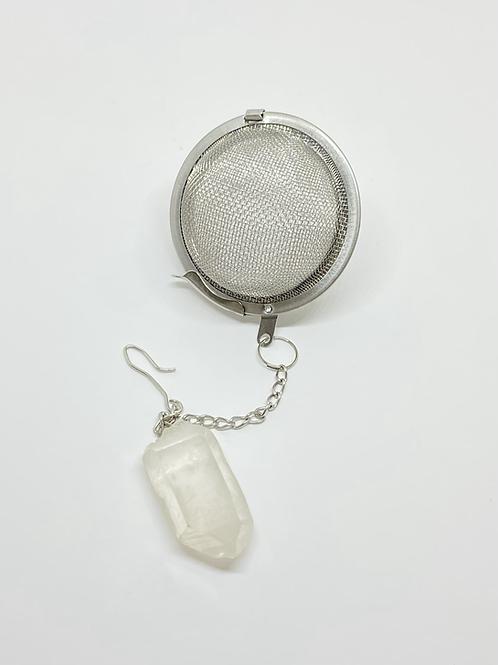 Infusor de chá - Quartzo transparente