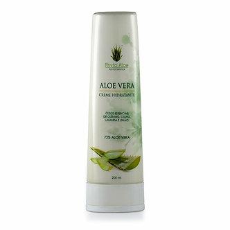 Creme Hidratante de Aloe Vera 75% - 200ml - Phytoterápica