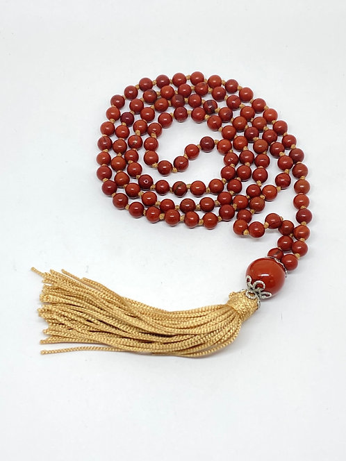 Japamala - Jaspe vermelho