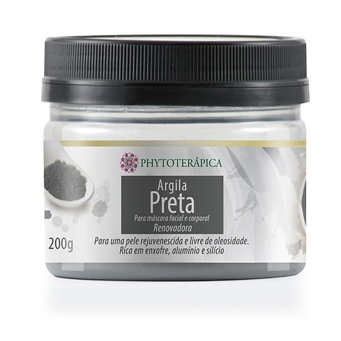 Argila Preta - Phytoterápica - 200g