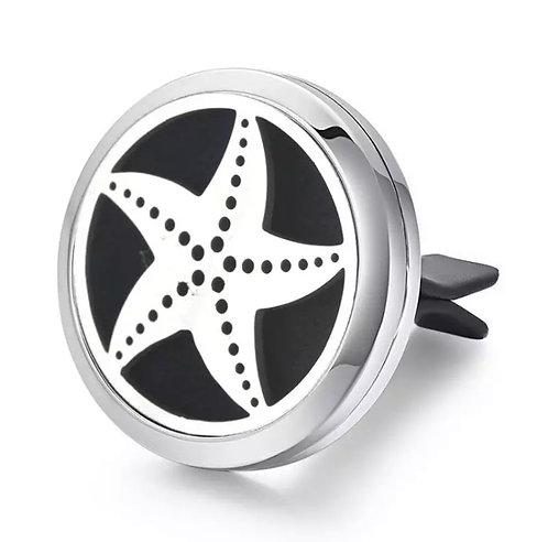 Difusor de Aromaterapia em clipe para carro - Estrela do Mar