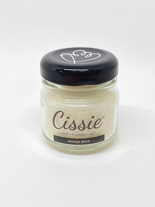 Vela Artesanal Cissie - Laranja doce (MINI)