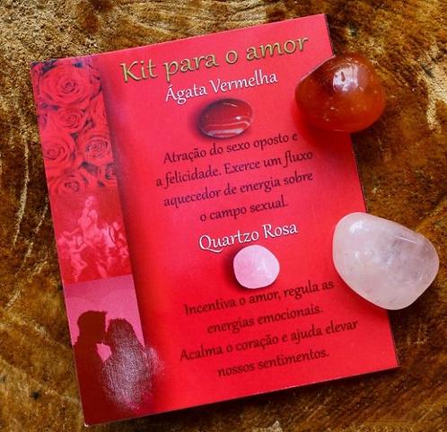 Kit Pedras - Amor