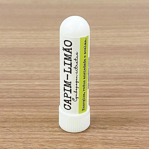 Inalador Capim Limão (Lemongrass) - Energiza, reduz ansiedade e acalma.