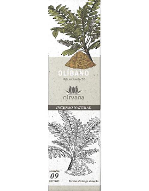 Incenso Natural Olíbano - Relaxamento - Nirvana
