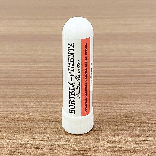 Inalador Hortelã-Pimenta - Estimula, energiza e alivia dor de cabeça