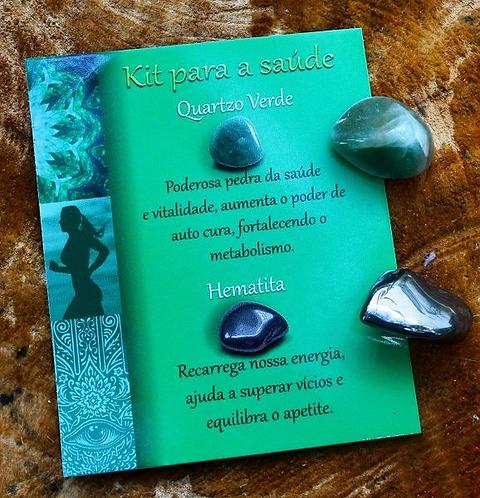 Kit Pedras - Saúde