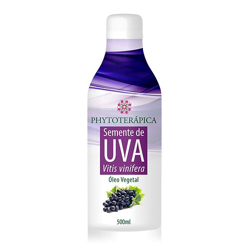 Óleo Vegetal de Semente de Uva - 500ml - Phytoterápica