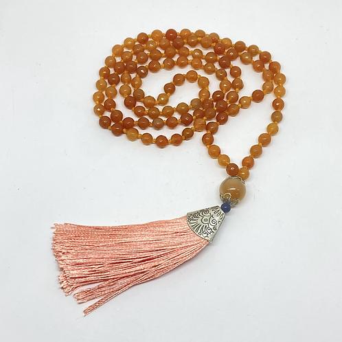 Japamala - Quartzo laranja