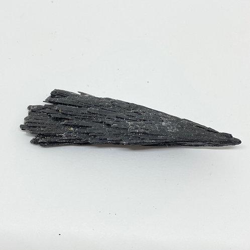 Pedra Vassoura de Bruxa / Cianita Negra - Tam M
