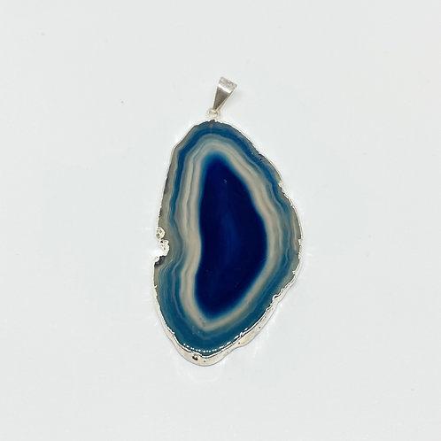 Pingente - Ágata Azul