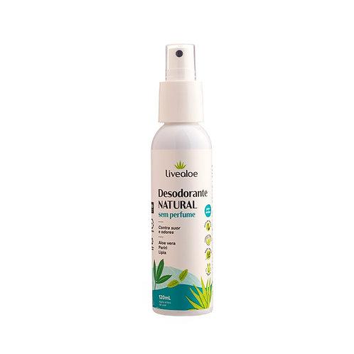 Desodorante Natural Sem Perfume - Live Aloe