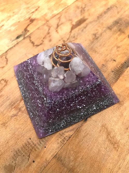 Pirâmide Purple Galaxy