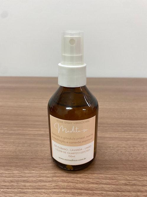 MEDITE-SE! - Home Spray Vibracional para auxiliar a meditação