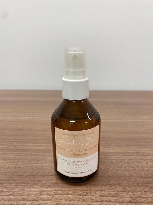 ACENDE A CHAMA - Home Spray Vibracional para aumentar a libido e estimulante