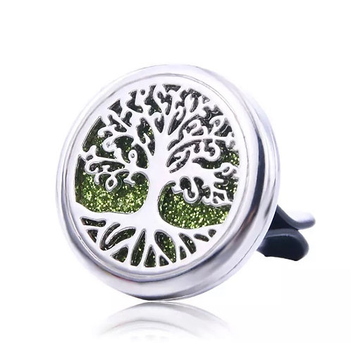 Difusor de Aromaterapia em clipe para carro - Árvore da vida