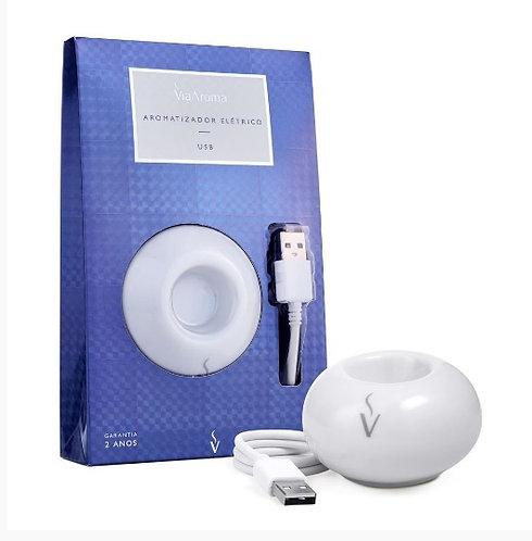 Aromatizador Elétrico de Porcelana USB - Via Aroma