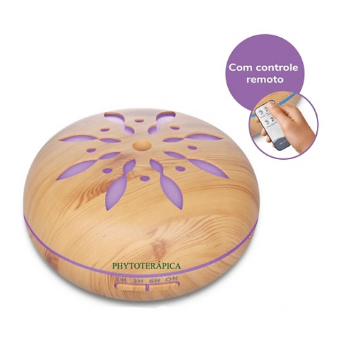 Aromatizador Ultrassônico Flor - 550ml - Phytoterápica