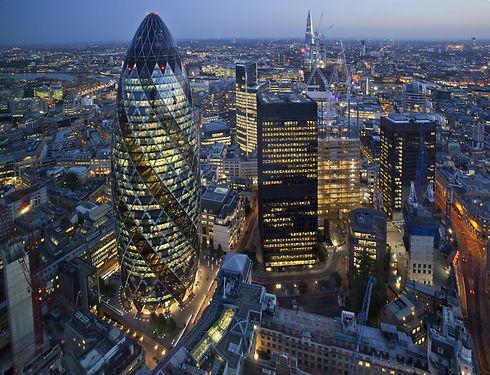 City of London Skyline At Sunset.jpg