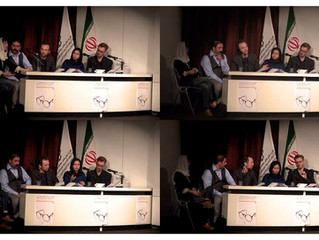 Q&A at the Cinematheque of Tehran Museum of Contemporary Art