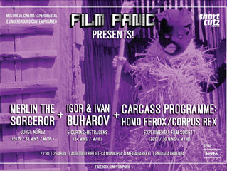 Film Panic Presents! A Showcase Of Contemporary Experimental & Underground Cinema