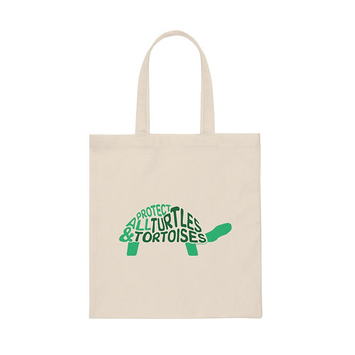 Protect All Turtles and Tortoises Tote