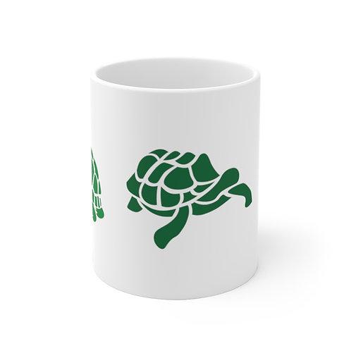 Three Turtle Ceramic Mug