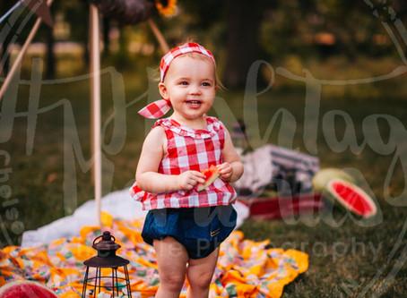 Indy Family Photography | Bretscher Family Watermelon Mini |  Carmel, In