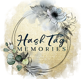 Indianapolis Photographer Logo, Hashtag Memories Photography