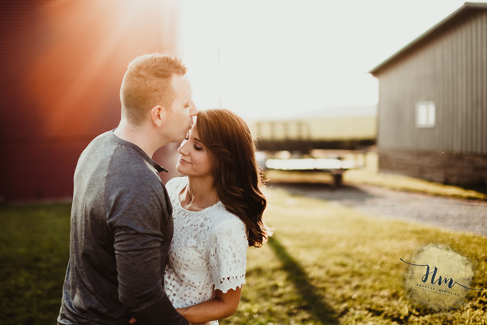 Couples photography in late summer in Indy by HashTag Memories